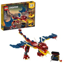 LEGO Creator 31102 Dragon de foc 3 in 1