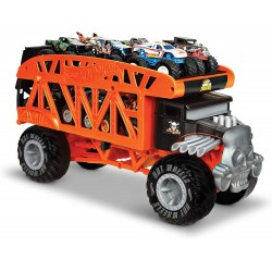 Mattel Hot Wheels Monster Trucks GKD37 Монстро-транспортер ,,Bone Shaker''