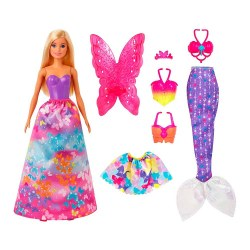 Mattel Barbie Dreamtopia GJK40 Set de joca ,,Transformare Magica