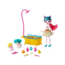 Mattel Enchantimals GJX35 Set de joca ,,Baite Distractive