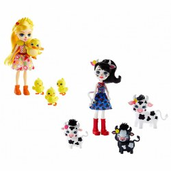 Mattel Enchantimals GJX43 Set de joca ,,Familie