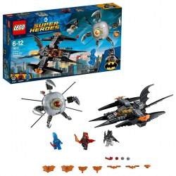 LEGO DC Comics 76111- Batman: Brother Eye Takedown