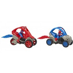 Hasbro Marvel E7332 - Figurina Spider-Man cu ATV