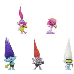 Hasbro TROLLS World Tour E6568- Set de joc Trolls
