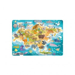Dodo Toys Puzzle DPR300179 - ПАЗЛ С РАМКОЙ АВСТРАЛИЯ
