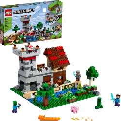 Lego Minecraft 21161 Cutie de crafting 3.0