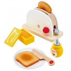 HAPE E3148A - Set de joaca POP UP TOASTER SET
