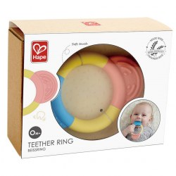 Hape E0026A Inel gingival Teether Ring