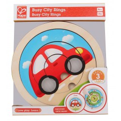 Hape E1605A Пазл Spinning Transport Puzzle