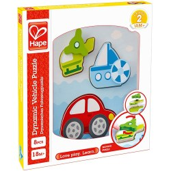 Hape E1607A Пазл Dynamic Vehicle