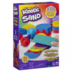 Spin Master Kinetic Sand 6053691 Nisip kinetic Curcubeu