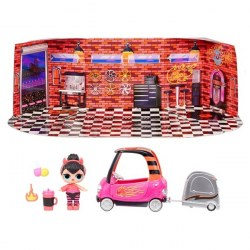 LOL Surprise Furniture 572619 Set de joacă Magazin auto cu Spice