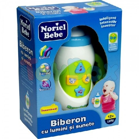 Noriel NOR6111 Feeding Bottle With Light and Music