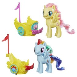 Hasbro My Little Pony B9159 Pony in Trasura Regala 8 cm