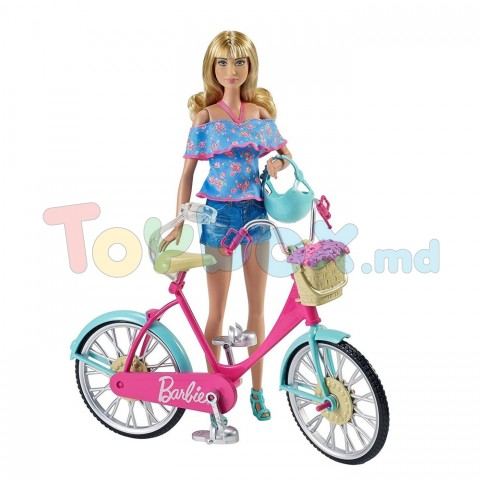 Mattel Barbie DVX55 Велосипед для куклы Барби