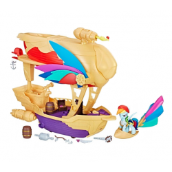 Hasbro My Little Pony  C1059 ​Set de joc Rainbow Dash -  Corabia Aerului Swashbuckler