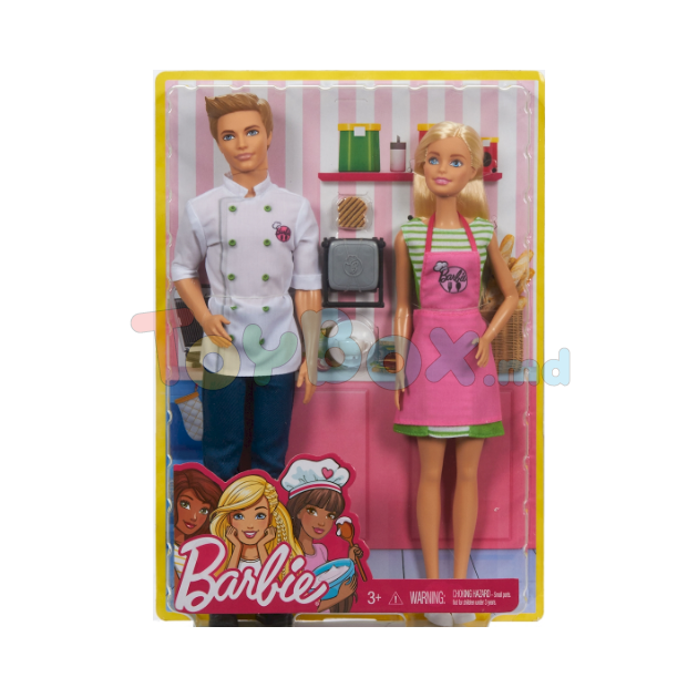 mattel barbie fhp64 Иг�овой набо� Ба�би quotКем б���quot Ба�би