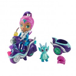 Mattel Shimmer and Shine FHN31Шиммер и Шайн — Игровой набор Зета на скутере