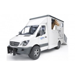 Bruder 02533 Masina Mercedes-Benz Sprinter transport cai