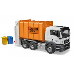 Bruder 03762 Camion gunoi MAN TGS orange М1:16