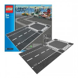 Lego City Supplementary 7280 Intersectie si drum