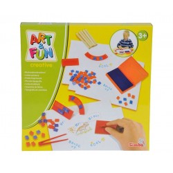 Simba 6314001 Set creatie Stampile-Litere, 120 piese