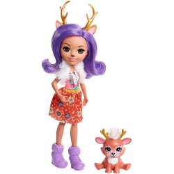 Mattel Enchantimals FNH23 Papusa Enchantimals cu animalut -  Danessa Deer, 15 см