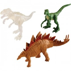 Mattel Jurassic World FPN72 Set de joc Mini dinozauri - set de 3 figurine Dino