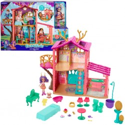 Mattel Enchantimals FRH50 Set de joaca Casa cerb - Danessa Deer