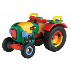 Mic-O-Mic 089.071 Constructor din plastic  «Tractor»