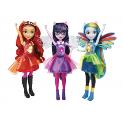 Hasbro My Little Pony E1984 Papusa interactiva Equestria Girls
