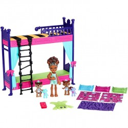 Mattel Monster High FND56 Set de joaca Monster High Family Wolf Bunk Bed