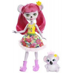 Mattel Enchantimals FNH22 Papusa Enchantimals cu animalut