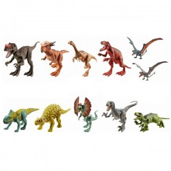 Mattel Jurassic World FPF11 Figurina Dinozaur Gallimimus Attack Pack
