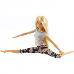 Mattel Barbie FTG80 NOU! Papusa Made To Move Fitness