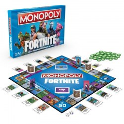 Hasbro E6603 Joc de societate Monopoly - FORTNITE