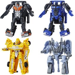 Hasbro Transformers E0698 Energon Igniters: Dropkick figurină robot care se transformă