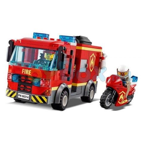 Lego City 60214 City Fire Пожар в бургер-кафе