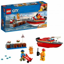 Lego City 60213 Incendiul de la docuri