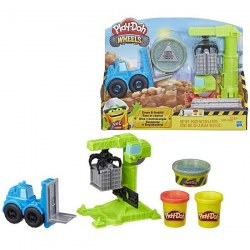 Hasbro Play-Doh E5400 Set de joc Play-Doh Wheels - Macara de încărcare