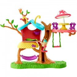 Mattel Enchantimals GBX08 Set de joc Petal Park căsuta de fluture