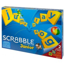 Mattel Y9667 Joc de societate Mattel Scrabble Junior (eng)