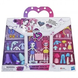 Hasbro My Little Pony E3130 Set figurine Fashion Squad Rainbow Dash si Sunset Shimmer