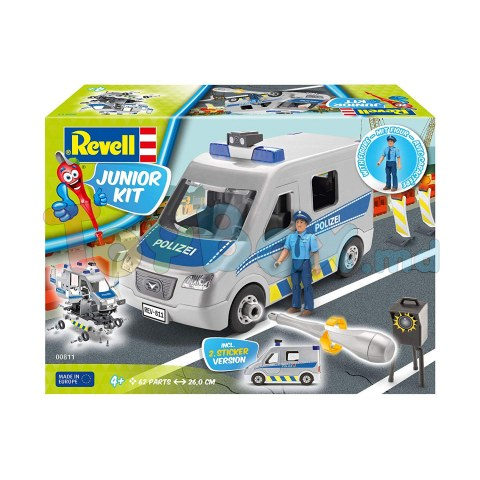 Revell Junior Kit 811 Полицейская машина