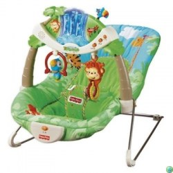 Mattel Fisher-Price K2565  Balansoar  Sezlong ineractiv muzical Fisher Price