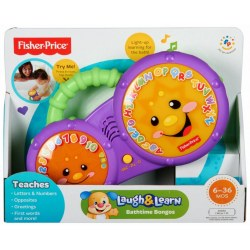 Mattel Fisher-Price BCD62 Смейся и учись Барабан Бонго (рус)