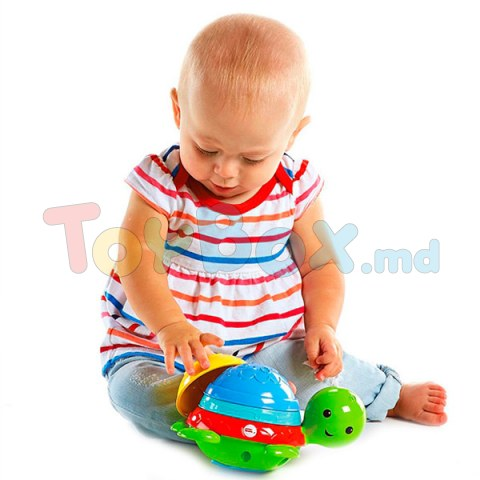 Mattel Fisher-Price DHW16 Черепашка - пирамидка для ванны