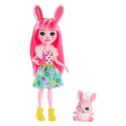Mattel Enchantimals FXM73 Papusa  Mattel Enchantimals Bree și animalul ei de companie
