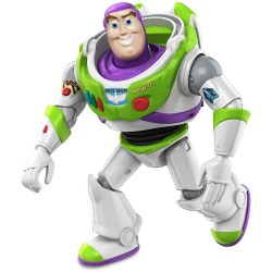 Mattel GDP69 Figurina Mattel Disney Toy Story4 Flexibila Buzz Lightyear, 17 cm