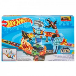 Mattel Hot Wheels GFH90 Автотрек Hot Wheels City Гонки в аэропорту